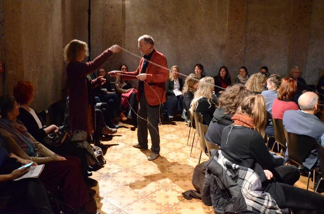 Netzwerken, Gudrun Wienerberger Musisches Zentrum, Wien, Friedhelm Roth- Lange, IFANT