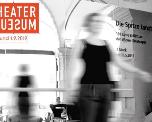 Plakat Ertanzte Perspektiven im Theatermuseum