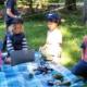 Kinder im Theaterprojekt für 5-8-Jährige im Waldorfkindergarten Schönau von Annika Dietl